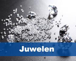 Juwelen weegschalen