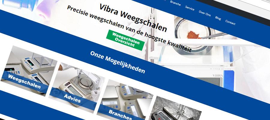 Nieuwe website Vibra