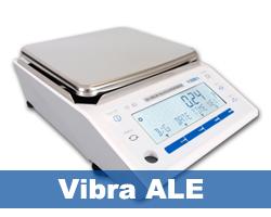 Vibra ALE precisie weegschaal